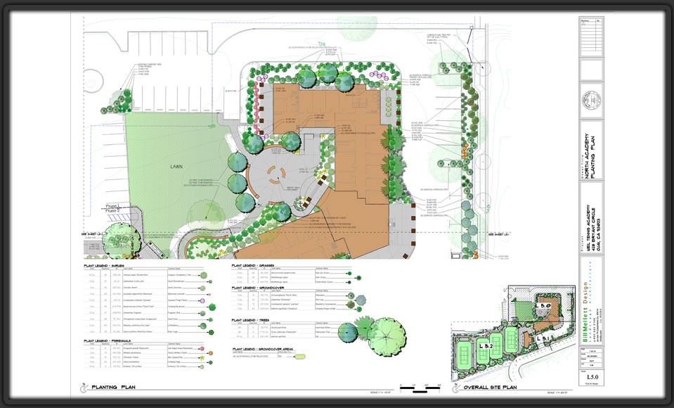 Landscape Presentation | Design Plans | Graphics | Construction Documents